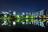 Distrito financiero de tokio — Foto de Stock