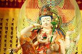 Chinese statue, Guan Yin sculpture — Stock Photo