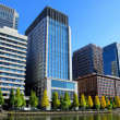 Stock Photo: Tokyo financial district