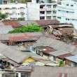 Stock Photo: Slum arein Thailand