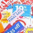 Coupons — Stock Photo #40442291
