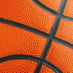Basketball texture close up — Stock Photo #40442421