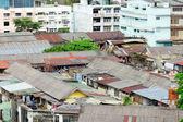 Slum area in Thailand — Stock Photo