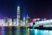 Hong Kong pier — Stock Photo