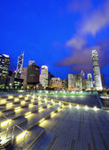 Central business district in Hong Kong — Foto Stock