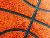 Basketball texture close up — Stock Photo