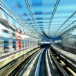 Fast train moving in day time — Stock Photo #40572587