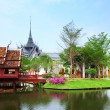 Traditional thai style house — Stock Photo