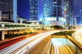 Traffic In Hong Kong city — Stock Photo
