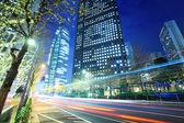 Traffic in Tokyo city — Stock Photo