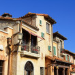 Mediterranean house — Stock Photo