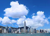 Hong Kong skyline at day time — Stock Photo
