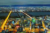 Osaka en japón — Foto de Stock