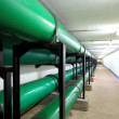 Drainage pipe in underground — Stock Photo #40650259
