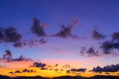Sunset sky — Stock Photo