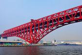 Osaka bridge — Stock Photo