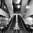 Foto Stock: Escalator