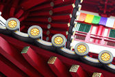 Chinese temple roof eaves — Stock Photo