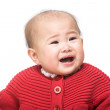 Stock Photo: Baby crying
