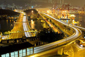 Transportation system in Hong Kong — Stock Photo
