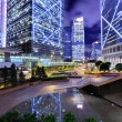 Stock Photo: Hong Kong commercial district