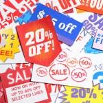 coupon van de korting — Stockfoto