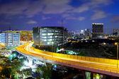 Hong Kong city with highway — Stock Photo