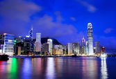 Hong Kong skyline — Stockfoto