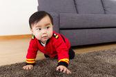 Adorable little baby boy — Foto Stock