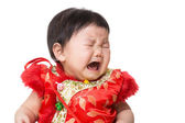 Chinese girl crying — Stock Photo