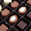 Chocolate box close up — Stock Photo #41465729