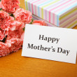 Stock Photo: Happy mother's day concept