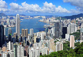Hong Kong at day time — Stock Photo