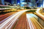Busy traffic in Hong Kong — Stock Photo