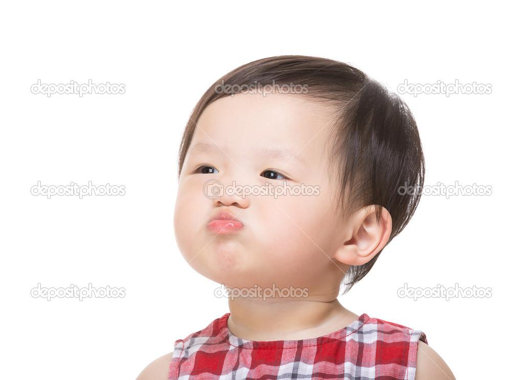 Baby Pouting Lips Asian Baby Girl Pout Lip