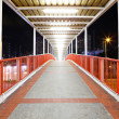 Footbridge in city — Stock Photo