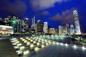 Finansowej dzielnicy hong kong — Zdjęcie stockowe