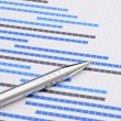 Stock Photo: Gantt chart