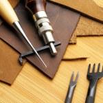 Leathercraft tool — Stock Photo