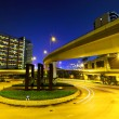 Stock Photo: Road junction with freeway