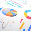 Stock Photo: Graphical chart analysis