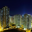 Stock Photo: Hong Kong cityscape at night