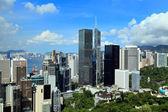Hong Kong financial district — Stock Photo