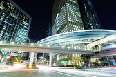 Tokyo city with car light — Stock Photo
