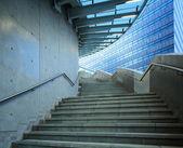 Concrete staircase at outdoor — Stock Photo