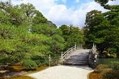 Japonský styl park s jasně modré oblohy — Stock fotografie
