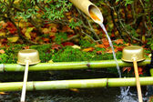Ladle in Japanese temple — Stock Photo