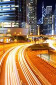Trafiken i staden — Stockfoto