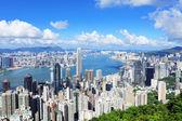 Hong Kong downtown — Stock Photo