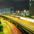 Highway in city at night — Stock Photo #42405425